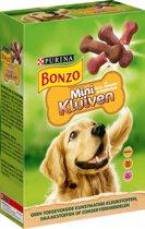 Bonzo Mini Kluiven Hondensnack - Rund, Gevogelte & Wild - 6 x 500 g