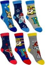 6 paar sokken van Paw Patrol maat 31/34