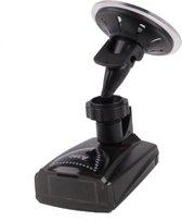 Full-Band Rader Detector, Ingebouwde luidspreker, Ondersteuning GPS Navigator (zwart)