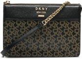 DKNY Ava Ebony Black Crossbody  - Zwart