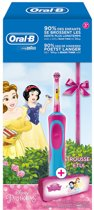 Oral B Stages Power Kids Disney Princess + gratis Disney case - Elektrische Disney tandenborstel voor kinderen