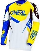 O'Neal Crossshirt Hardwear Flow True Blue/Yellow-XXL