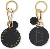 Personal Key Ring En Bag Tag - D