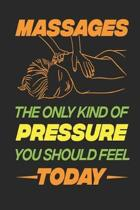 Massages The Only Kind of Pressure You Should Feel Today