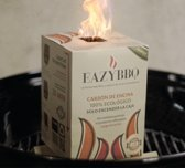 EazyBBQ - party  pakket - Barbecue Houtskool - Eiken houtskool