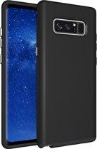 Let op type!! Voor Galaxy Note 8 antislip Armor Cover beschermhoes terug Shell(Black)