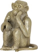 Light & Living Ornament Monkey Brons 26 x 18 x 21
