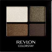 Revlon 16H ColorStay Quad - 515 Adventurous - Bruin - Oogschaduw