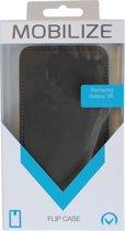 Samsung flipcase wallet leder zwart