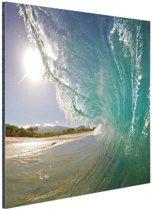 Golven Oceanie  Aluminium 80x120 cm - Foto print op Aluminium (metaal wanddecoratie) / Zee en Strand
