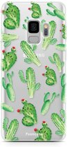 Samsung Galaxy S9 - TPU Soft Case - Back Cover telefoonhoesje - Cactus