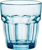Bormioli Rock Bar Waterglas - 27 cl - Blauw - Set-4