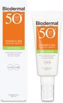 Biodermal Zon - Matterende Zonnefluïde - Zonnebrand - SPF 50 - 40ml