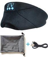 Sleeping headphone - Draadloze Slaapmasker met koptelefoon functie - Oogmasker met bluetooth en geluidsonderdrukking - Slaap koptelefoon - Koptelefoon met ruisonderdrukking - Slaapmasker mannen en vrouwen - Meditatie koptelefoon - Cozyphones