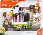 Mega Bloks Minions 3 Ijscowagen - Constructiespeelgoed