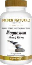 Golden Naturals Magnesium (citraat) 400mg (60 caps.)