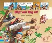 Strips voor beginnende lezers - Blijf van big af!