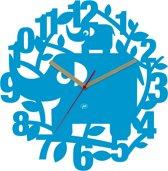 JIP Klok Ellie the Elephant - Blauw