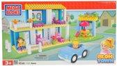 Mega Bloks Blok Town Kitty's Huis - Constructiespeelgoed