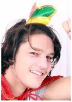 Mini prinsenmuts rood/geel/groen