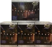 Partylights Set  - Koppelbaar - Buiten - 40 LED - Warm wit - 20m