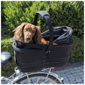 Fietsmand voor honden tot 6KG Brede bagagedrager