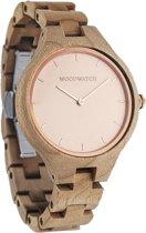 De officiële WoodWatch   Rose Ocean   Houten horloge dames