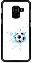 Galaxy A8 2018 Hardcase Hoesje Soccer Ball