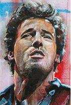Bruce Springsteen canvas