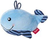 sigikid Mini rammelaar walvis Red Stars 41172