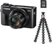 Canon PowerShot G7X Mark II - Zwart - Vlog Kit