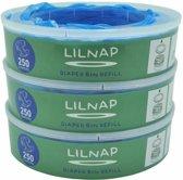LILNAP - navulcassettes voor Angelcare luieremmer (smalle rol) 2 rollen