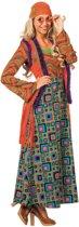 Gekleurd hippie pak voor vrouwen 38 (m)