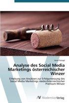 Analyse Des Social Media Marketings Osterreichischer Winzer