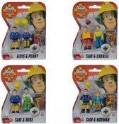 Brandweerman Sam Speelfiguren - Sam & Charlie