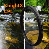 Polarisatie Filter - 58 MM - Circulair CPL Foto Lens Filter - Voor Canon / Nikon / Sony Camera