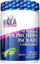 Pea Protein Isolate All Natural Haya Labs 454gr Naturel