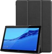 Huawei Mediapad T5 10 hoesje - Smart Tri-Fold Case - zwart