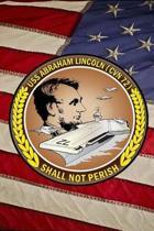 US Navy Aircraft Carrier USS Abraham Lincoln CVN 72 Crest Badge Journal