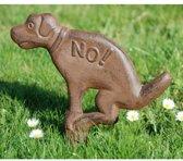 NO Hondenpoep (bruin) - set van 4 stuks