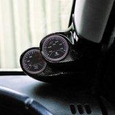 RGM A-Pillarmount Rechts - 2x 52mm - Renault Clio III 1998-2005 - Carbon-Look