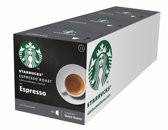 Starbucks® Espresso Roast koffie cups by Nescafé® Dolce Gusto® Dark Roast - 3 x 12 capsules