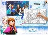 Inkleur puzzel Frozen