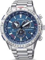 Citizen CB5000-50L Horloge Heren Promaster Sky Ecodrive Radio Controlled Staal Blauw