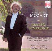 Mozart: Jupiter-Symphonie; Divertimenti KV 137 & 138; Serenata Notturna