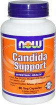 Now Foods, Candida Support, 90 vegetarische capsules
