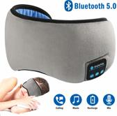 Bluetooth Eye Mask - Bluetooth Slaapmasker - Het slaapmasker en muziek luisteren - Slaapmasker Grijs