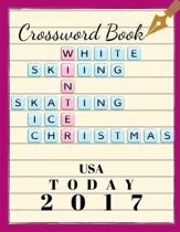 Crossword Book USA Today 2017: Small Crossword Puzzle Books, Relaxing Sunday Crosswords, Kid's Crossword Puzzle Book Hours of Fun for Ages and Up (Wo