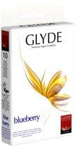 Glyde Ultra Bosbes - 10 stuks - Condooms
