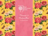 RHS Peonies and Butterflies Postcards (Silver)